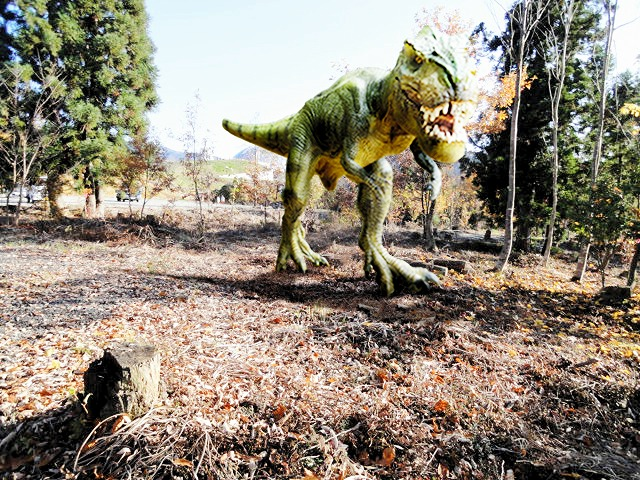 かつやま恐竜の森に来春オープンする「ディノパーク」のイメージ図
