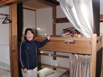五箇山にゲストハウス開業 旧民宿を改装