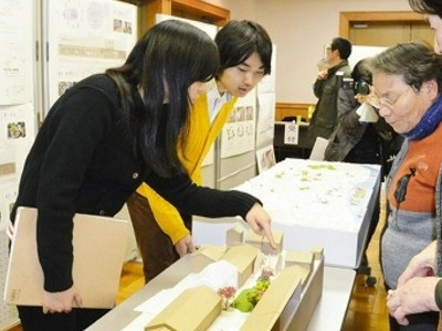 「三國湊座」周辺、人集う空間に 東京大学生らが改修案提示