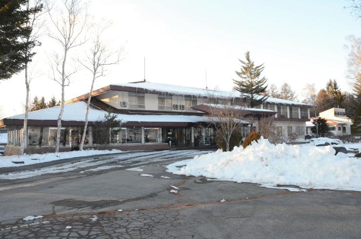 原村の温泉宿泊施設「樅の木荘」