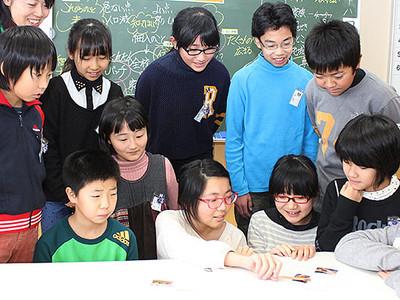 神通峡の魅力紹介する冊子作成へ 富山市の小学生