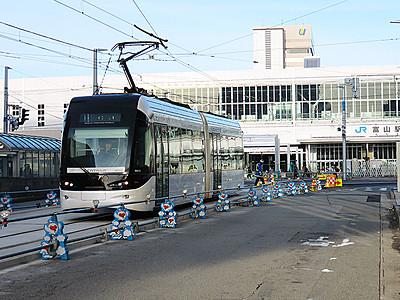 市電の富山駅乗り入れは新幹線と同時開業