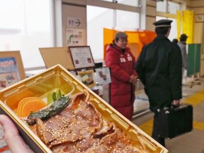 釜ぶた弁当(上越) 軟らか肉とご飯が絶妙