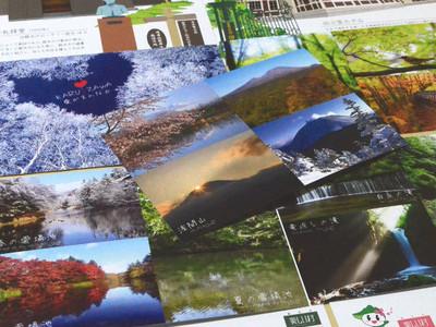 軽井沢の絵はがき初製作 観光客の要望踏まえ
