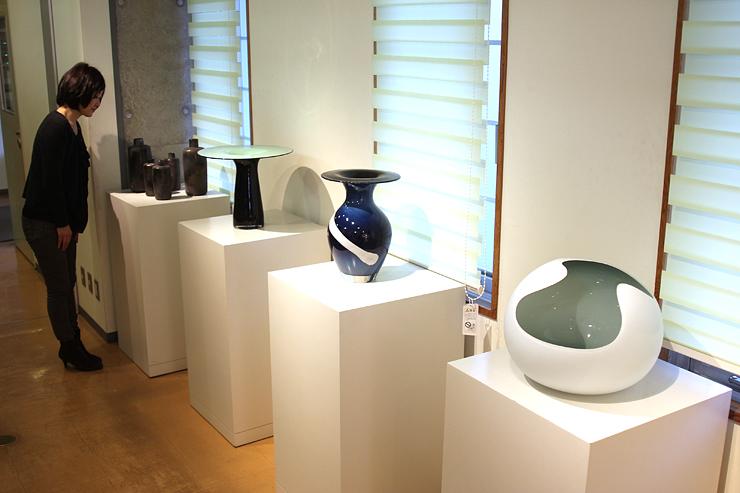 富山ガラス工房がレンタルサービスしている作品
