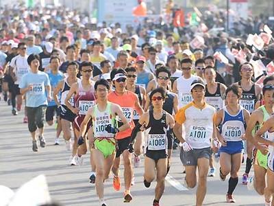 6月の安曇野ハーフマラソン 17日から参加受け付け、先着5000人