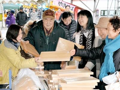 「勝山年の市」25日に開催 民芸品や伝承料理ずらり