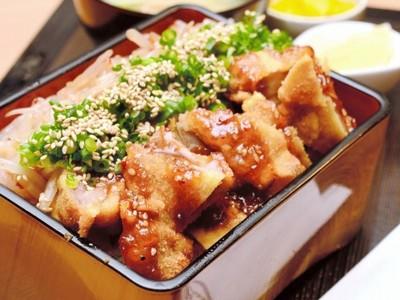 純けいかつ丼、かむほどに味わい ふくい美味探訪福丼県編