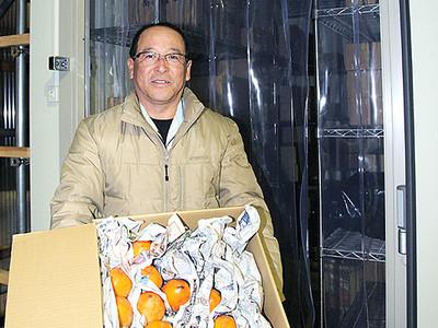 冬の味「あんぽ柿」春も提供へ 生産者が新たな試み