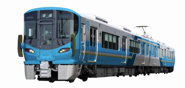 IRいしかわ鉄道が導入する車両のデザイン(同社提供)