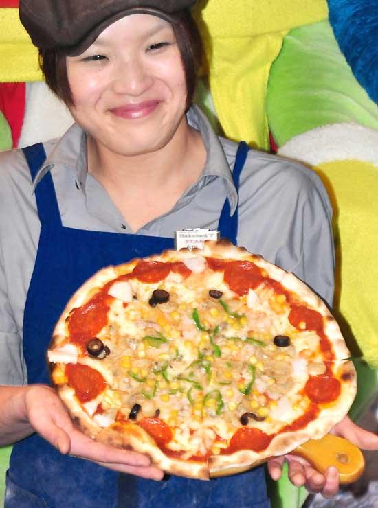 1位に選ばれたミックスピザ