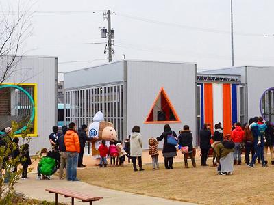 JR芦原温泉駅西に市民と観光客の交流拠点 「aキューブ」プレオープン