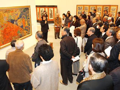 志功の信心、軌跡たどる 福光美術館、企画展開幕