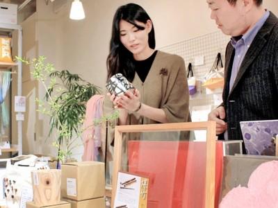 越前市ものづくり塾の参加事業者、金沢で販売会 北陸新幹線開業合わせ