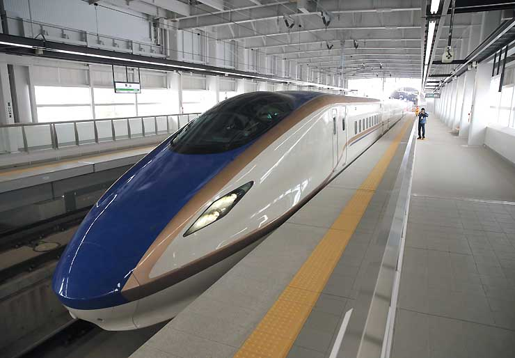 JR東日本の新型車両「E7系」