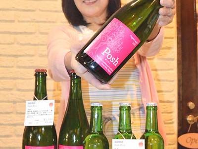 飯田産リンゴで「シードル」 振興会・酒販店・農家が連携
