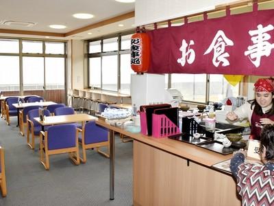 福井の温泉施設「波の華」便利に 食事コーナー新設、時間延長