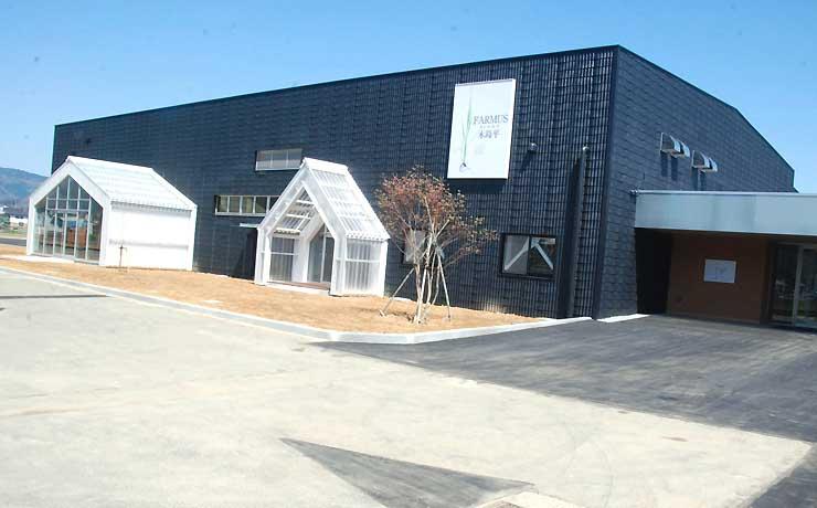 5月1日に開業する木島平村の道の駅「FARMUS木島平」