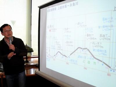 断面図で描いた北陸新幹線の姿 長野でトーク&サイン会