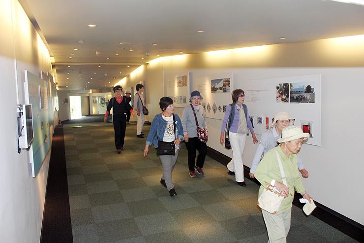 源が改修するミュージアム内のアプローチ部分。舟橋に見立てることで外国人客にも楽しんでもらう=富山市南央町