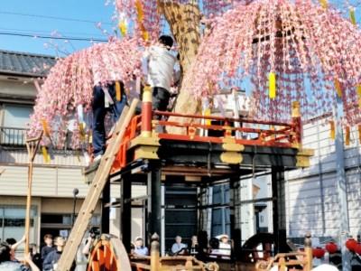 20日の三国祭中日に8年ぶり雄姿 山車「永代櫻」 福井県坂井市
