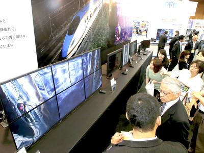情報通信の最新技術発信 県産業展示館で「eメッセ金沢」が開幕