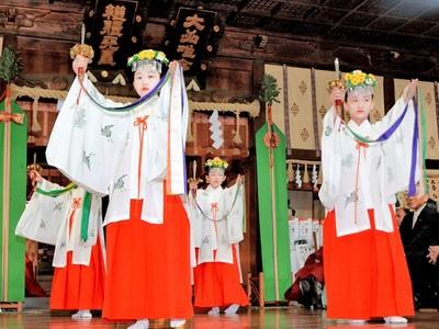 三国祭が開幕、浦安の舞厳かに 20日に山車6基巡行