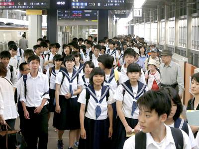 北陸新幹線で修学旅行 千葉県の中学生380人が石川県へ