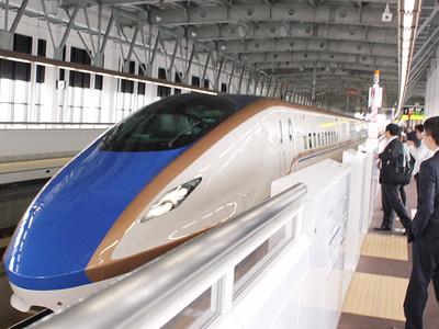 「かがやき」高岡停車継続 北陸新幹線7~9月臨時便