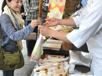 飯綱町のリンゴたっぷり 「イーブロン」長野で試験販売