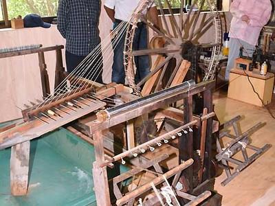 「八丁撚糸機」30年ぶり一仕事 安曇野で実演一般公開へ