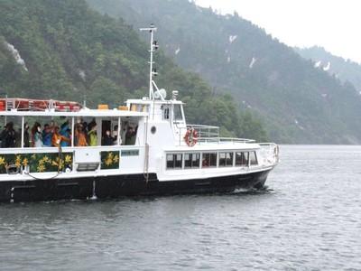尾瀬に春はるかな船旅 「魚沼ルート」が開通