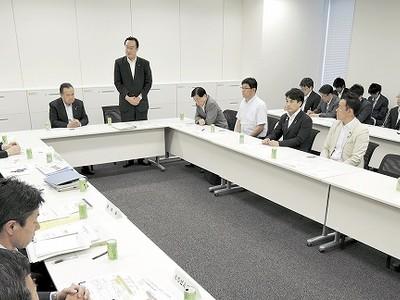 北陸新幹線の福井先行開業 あわらに留置線候補地 与党PT