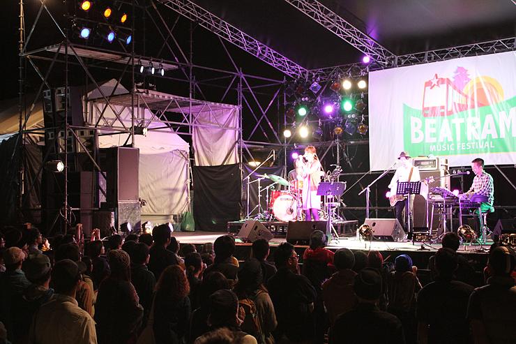 2014年の「ビートラム・ミュージック・フェスティバル」の様子