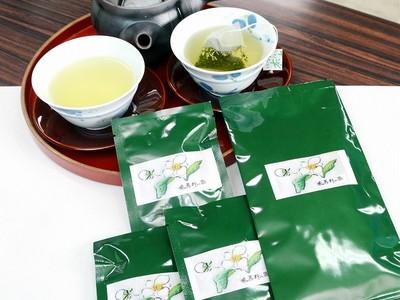 心地いい渋み、味真野茶ティーバック 成育良く2.5倍製造