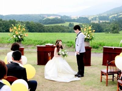 幸せの頂点は山のてっぺんで 高原での結婚式いかが? 大野のミルク工房PR