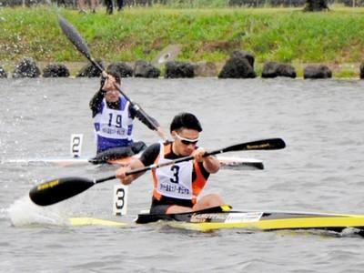 あわらでカヌーの祭典 ロンドン五輪代表選手も参加