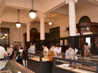 旧銀行本店の博物館が改装オープン 福井県敦賀市