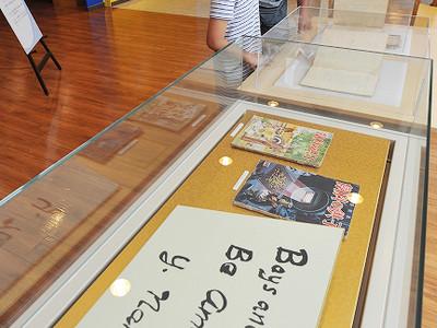 南部陽一郎さんしのぶ追悼展開幕 福井県立こども歴史文化館