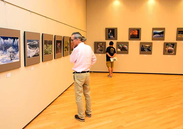 日本現代写真家協会の会員による巡回展