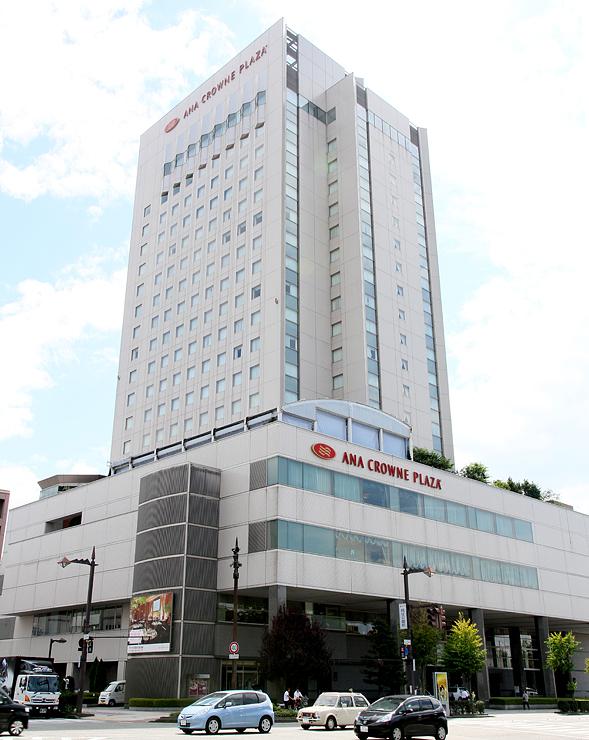 星野リゾートが買収するANAクラウンプラザホテル富山=富山市大手町