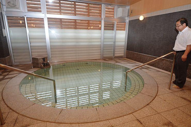 新たに内風呂が設けられた権現荘=糸魚川市田麦平