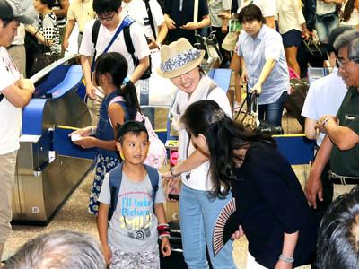 楽々ふるさと 石川県内、旧盆の帰省ラッシュ始まる