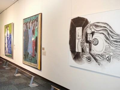 松尾芭蕉の墨跡史料を初公開 福井県小浜市で移動美術館「描かれた女性たち」