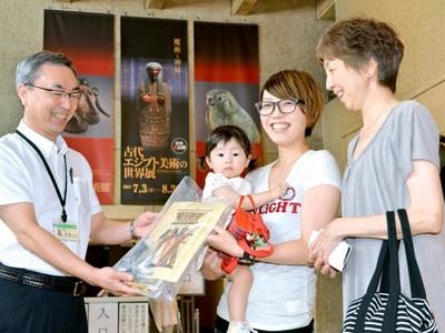 古代エジプト展が入場4万人 福井県立美術館