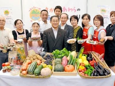 海、山、里の幸を味わって 福井県坂井市で10月に催し