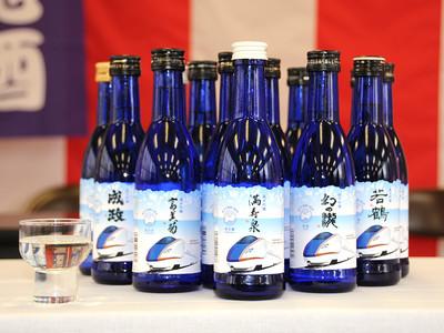 新幹線ラベルの地酒を増産 富山県の14蔵元