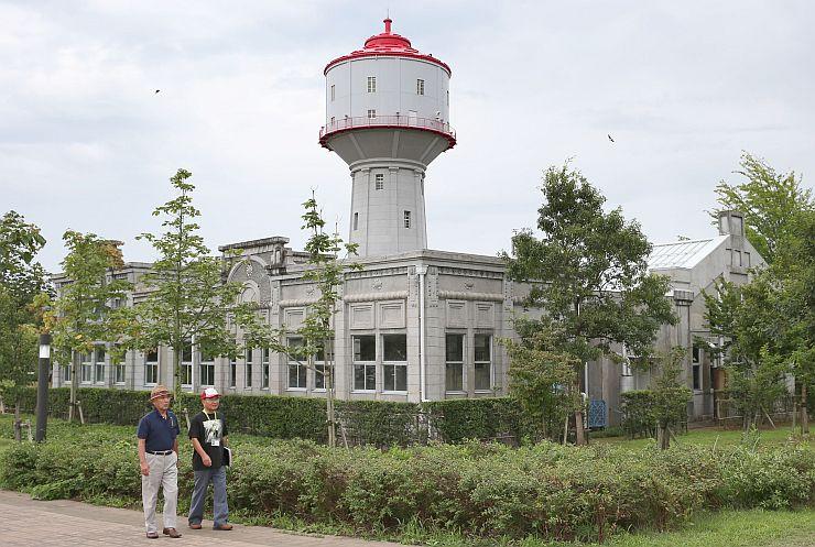 長岡空襲の中で残った4施設が「認定戦争遺跡」となることが固まった旧中島浄水場=25日、長岡市
