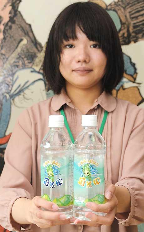 木祖村をPRするために作られた水「木曽川の源流水 源気印」