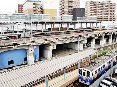 北陸新幹線の高架を間借りへ えちぜん鉄道、27日に一番列車